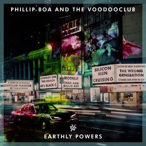 Phillip Boa & The Voodooclub - Earthly Powers - CD