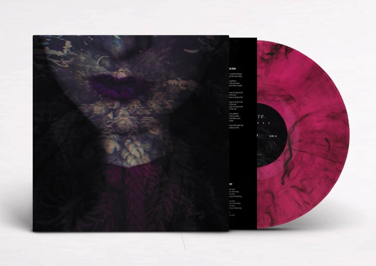 Hante - FIERCE (Limited Magenta with Black Marbling) - LP