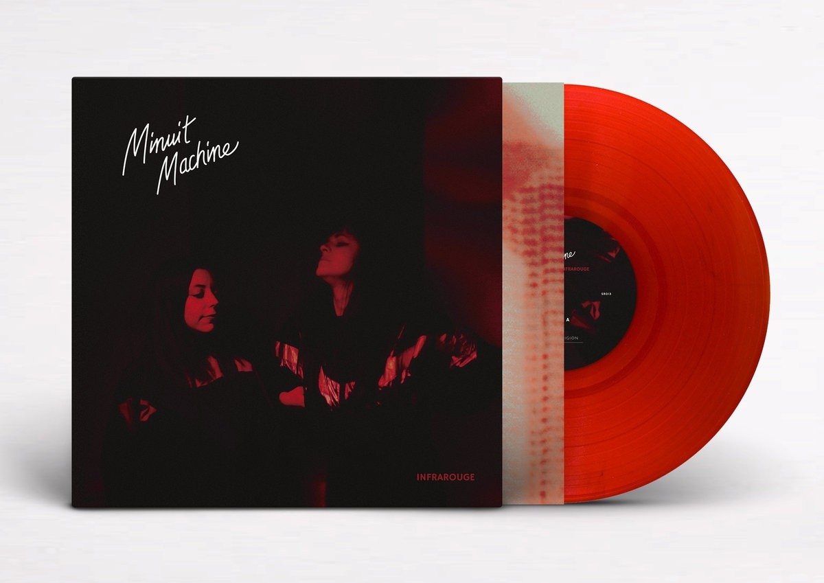 Minuit Machine - Infrarouge (Limited Clear Blood Red) - LP