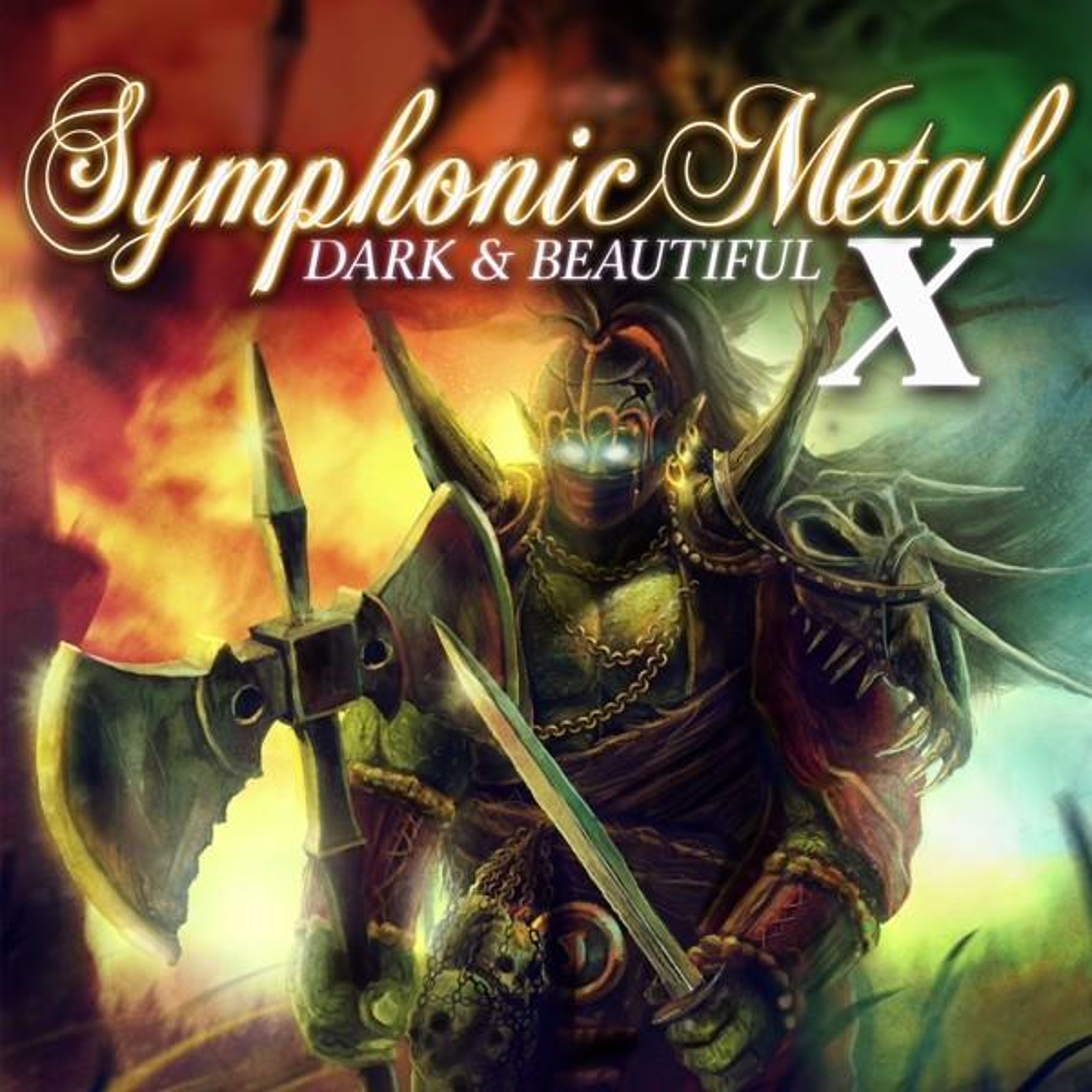 V.A. - Symphonic Metal 10-Dark & Beautiful - 2CD