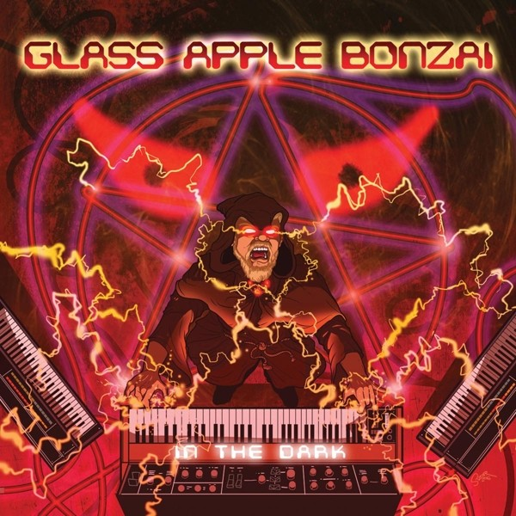 Glass Apple Bonzai - In The Dark (Limited Purple Vinyl) - LP