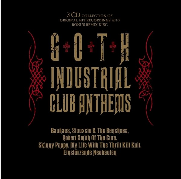 V.A. - Goth Industrial Club Anthems - 3CD