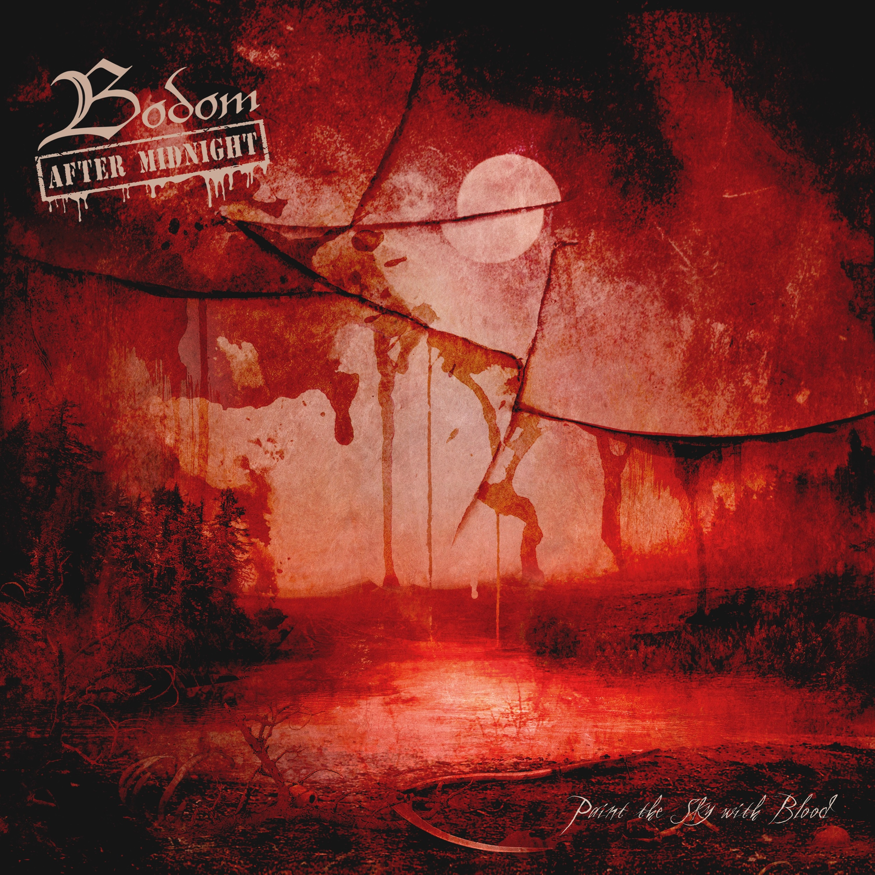 Bodom After Midnight - Paint the Sky with Blood - CD EP