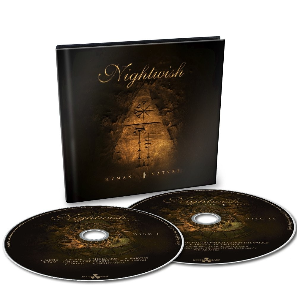 Nightwish - Human.:II:Nature. (DigiBook) - 2CD