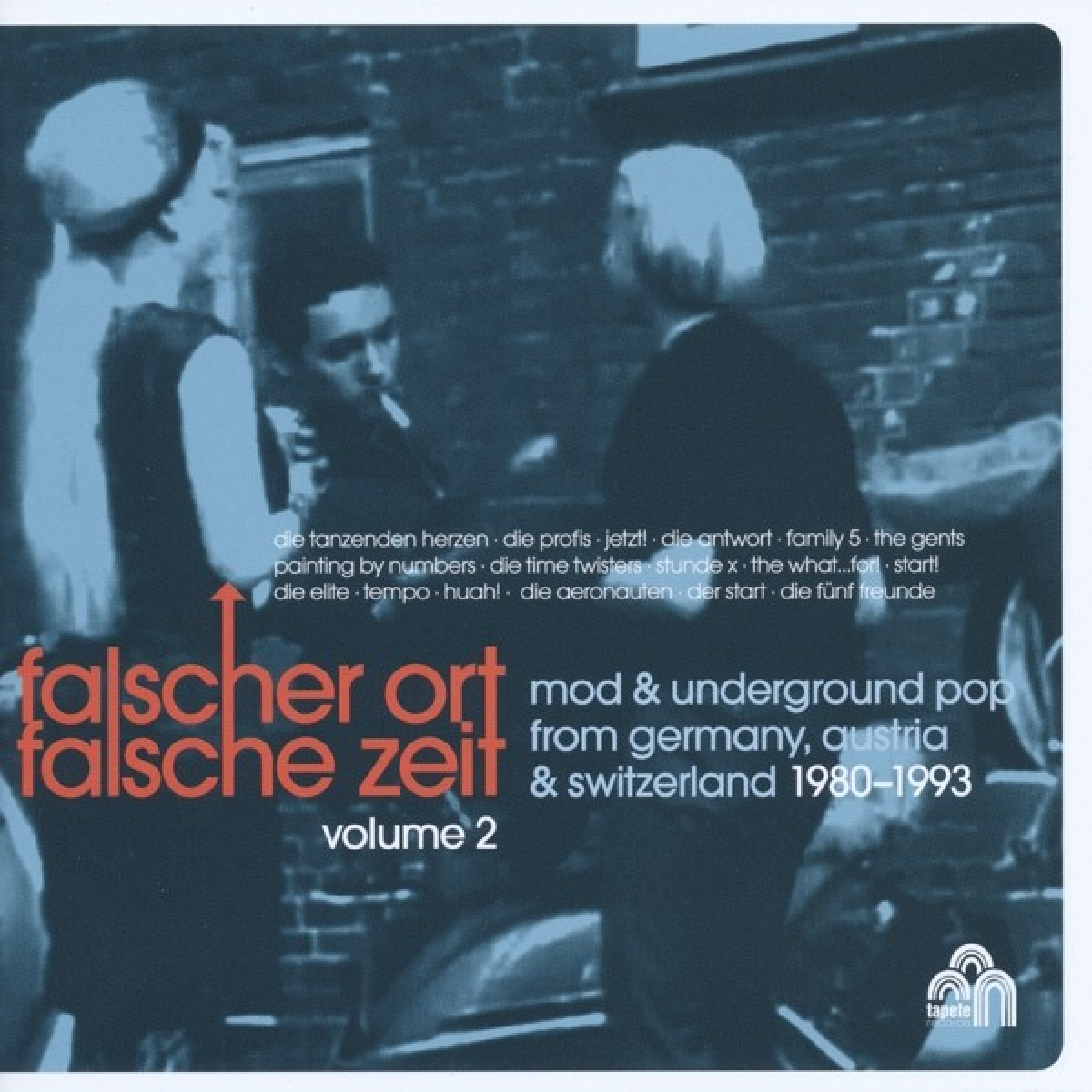 V.A. -  Falscher Ort,falsche Zeit 02 - Power-Pop & Mod in Germany, Austria & Switzerland - CD