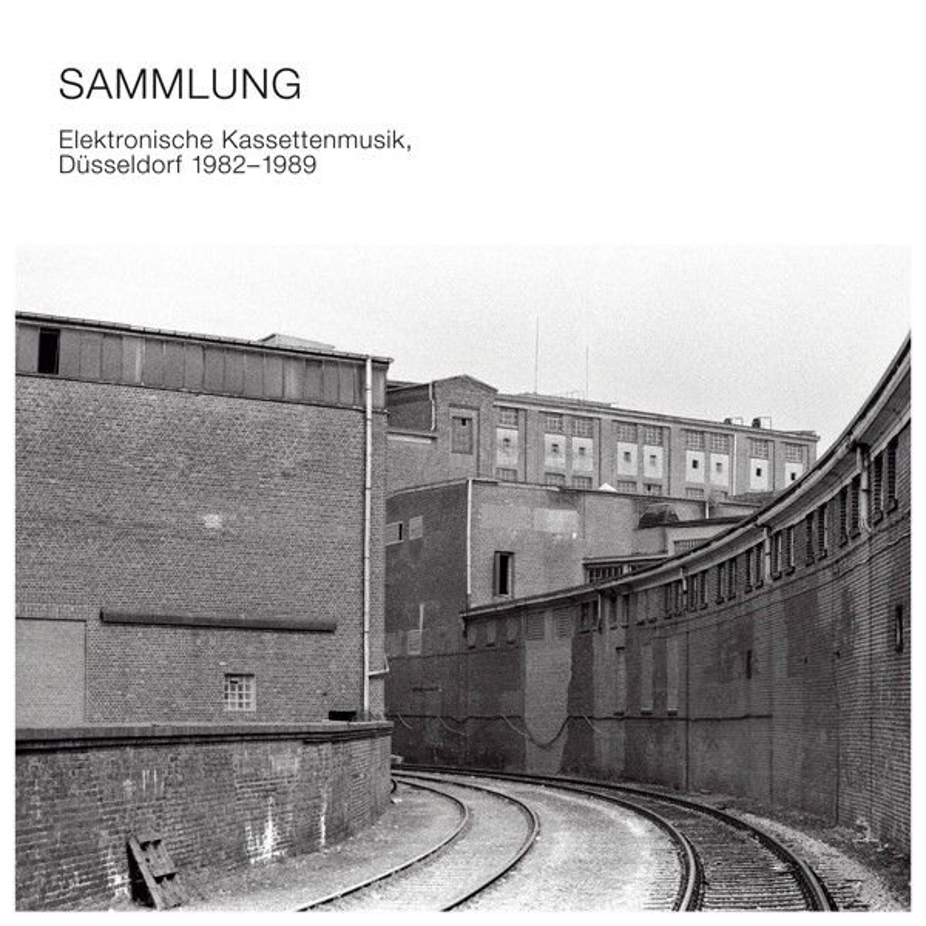 V.A. - Sammlung-Elektronische Kassettenmusik - Düsseldorf 1982-1989 - LP