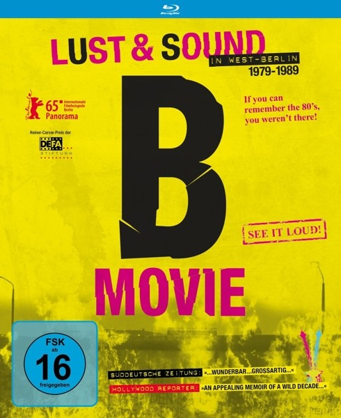 V.A. - B-Movie: Lust und Sound in West-Berlin - Blu-Ray