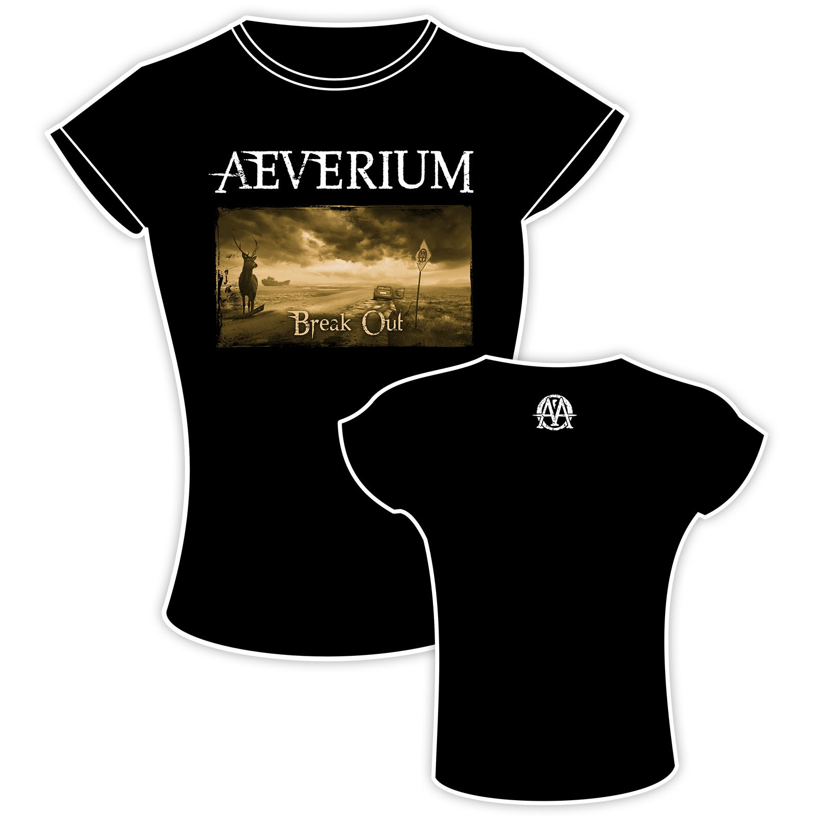 Aeverium - Break Out - Girlie - Girlie Shirt