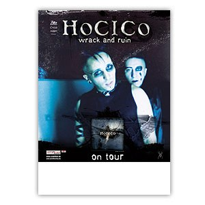 Hocico - Wrack And Ruin Tourposter 2004 - Poster