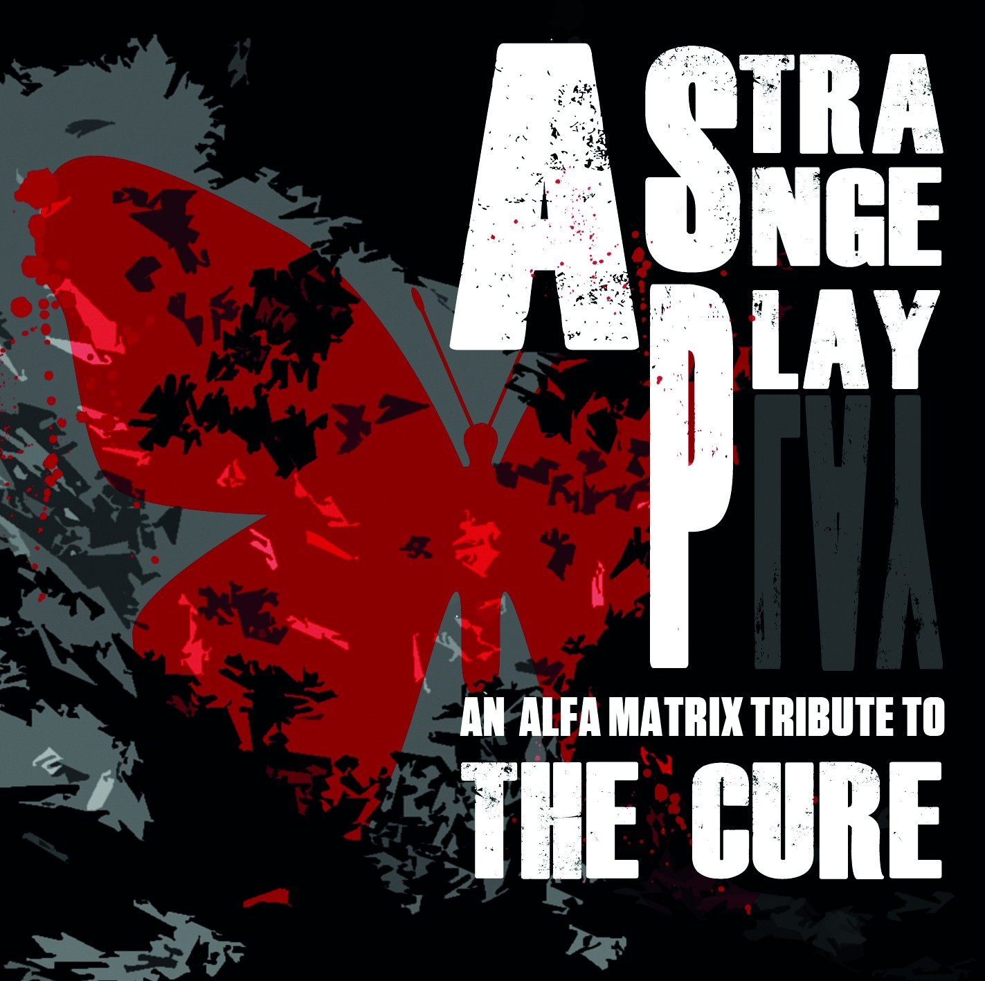 V.A. - A Strange Play - An Alfa Matrix Tribute to THE CURE - 2CD