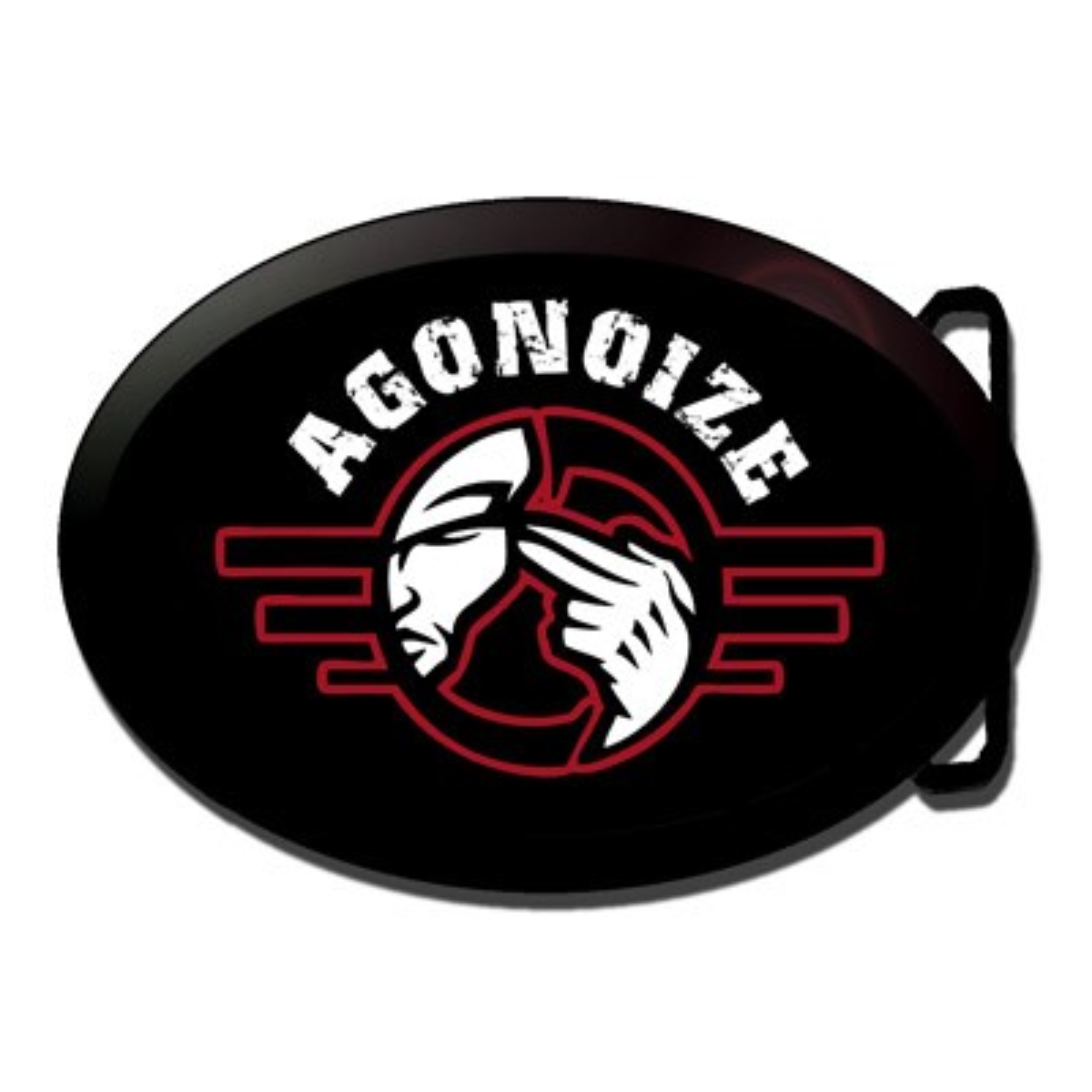 Agonoize - Logo –Gürtelschnalle - Belt Buckle