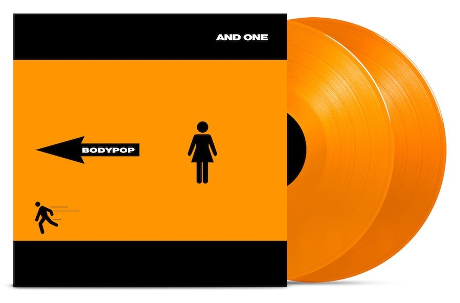 And One - Bodypop - Ltd. Orange Vinyl - 2LP
