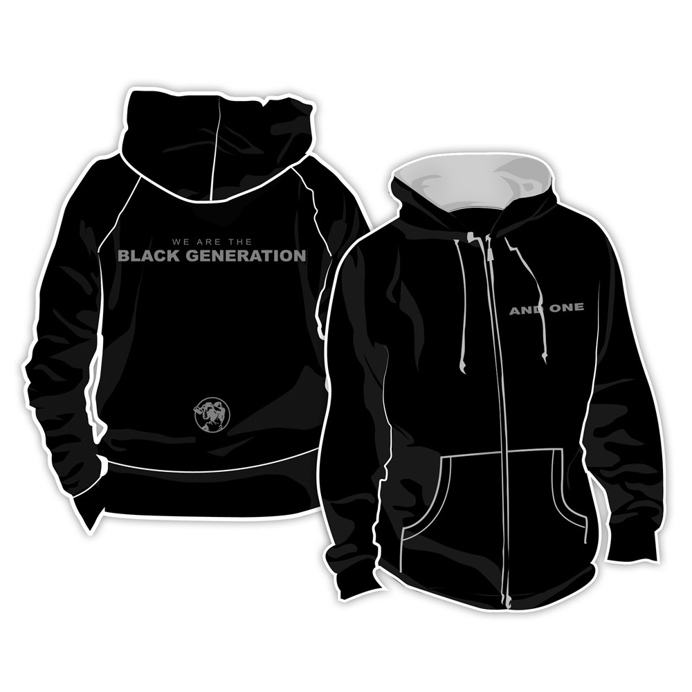 And One - Black Generation NEW - Kapuzenjacke