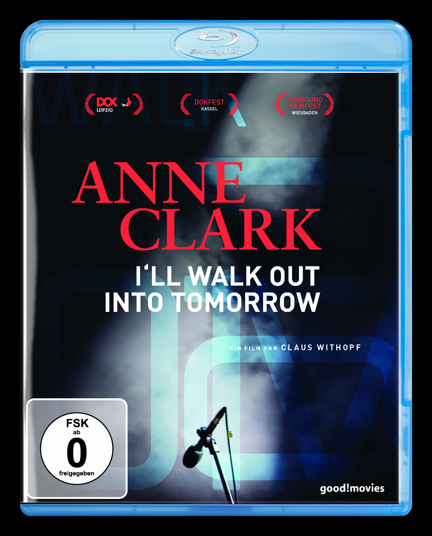 Anne Clark - I'll Walk Out Into Tomorrow - Blu-Ray