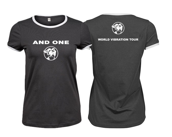 And One - World Vibration Tour - Girlie Shirt