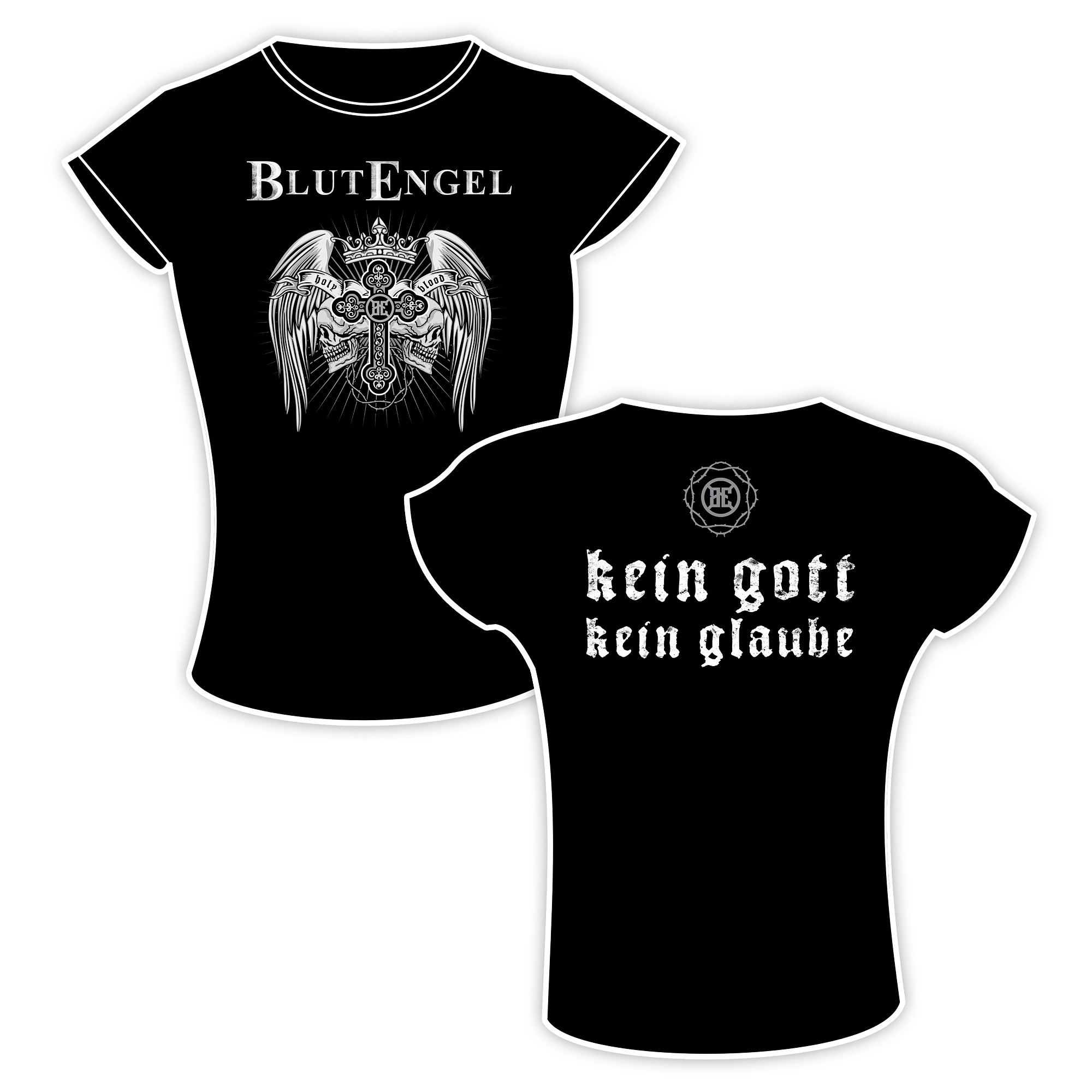 Blutengel - Gott : Glaube - Girlie-Shirt