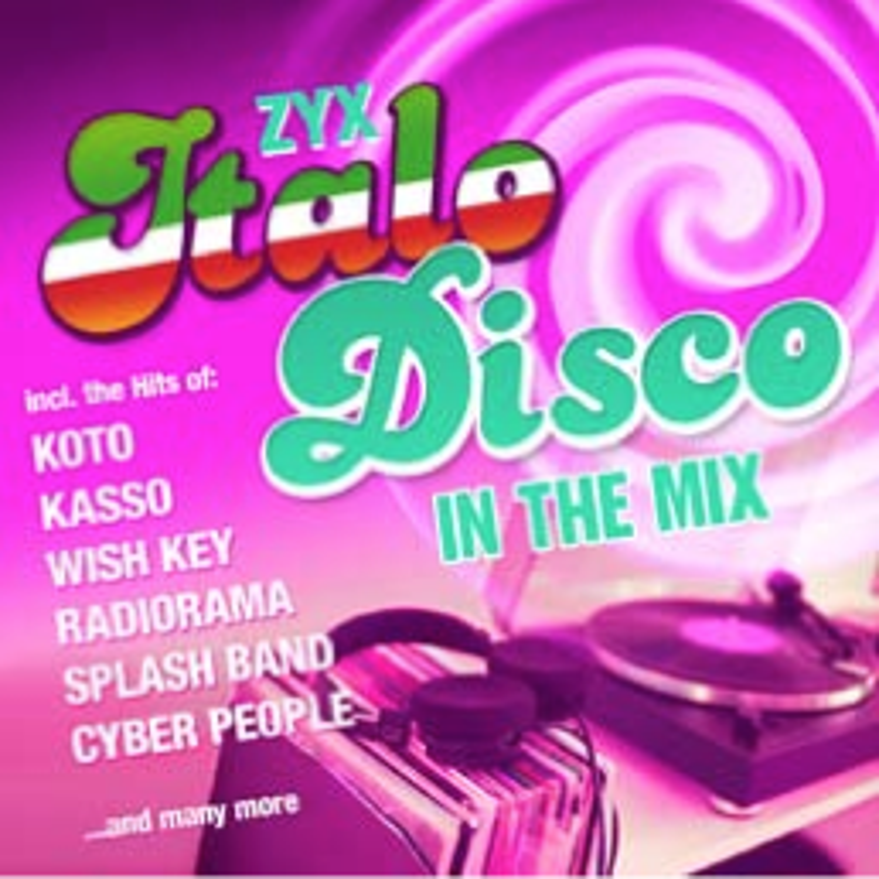 V.A. - ZYX Italo Disco In The Mix - CD