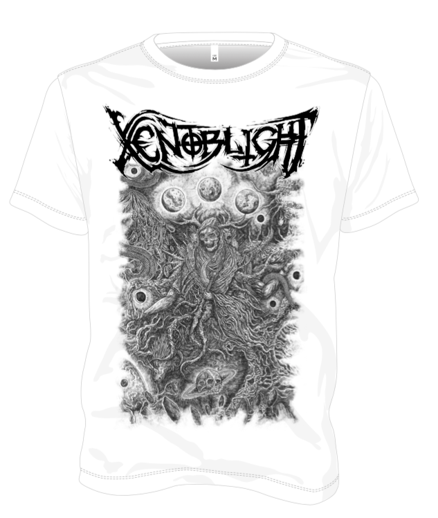 Xenoblight - Procreation (White) - T-Shirt