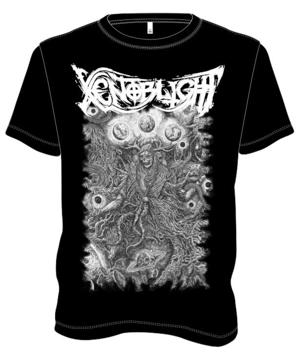 Xenoblight - Procreation (Black) - T-Shirt