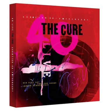 The Cure - Curaetion 25-Anniversary (Limited Edition) - 2DVD+4CD Box