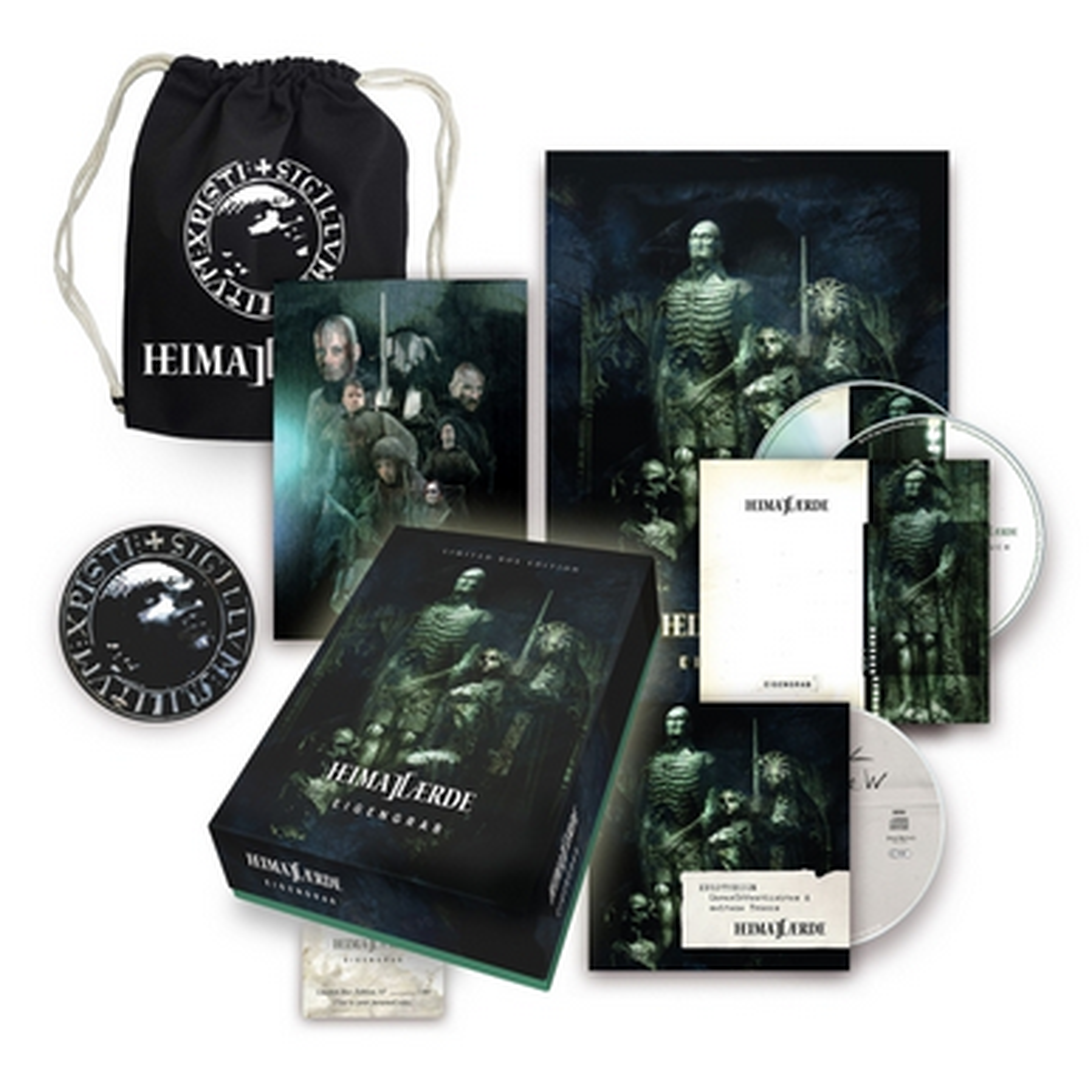 Heimataerde - Eigengrab (Limited Edition) - BOX