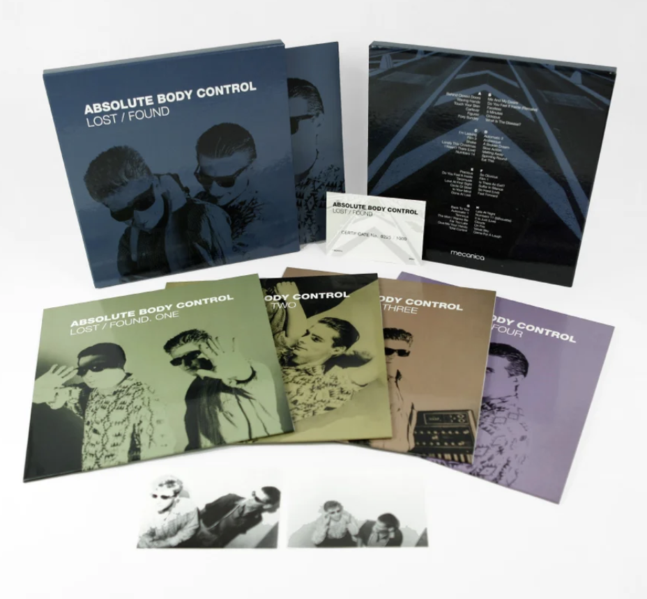 Absolute Body Control - Lost / Found (Limited Edition) - 4LP Box