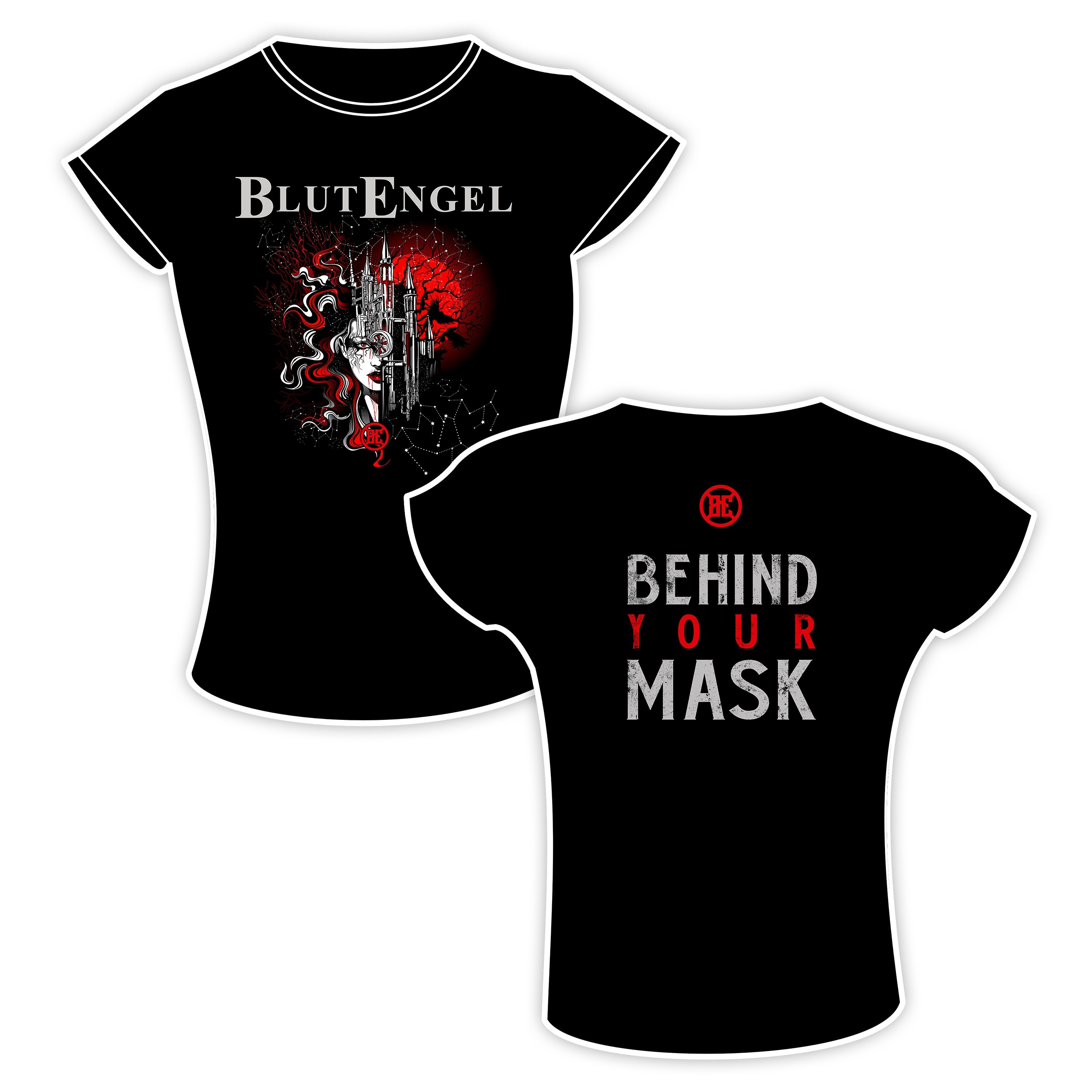 Blutengel - Behind Your Mask - Girlie-Shirt
