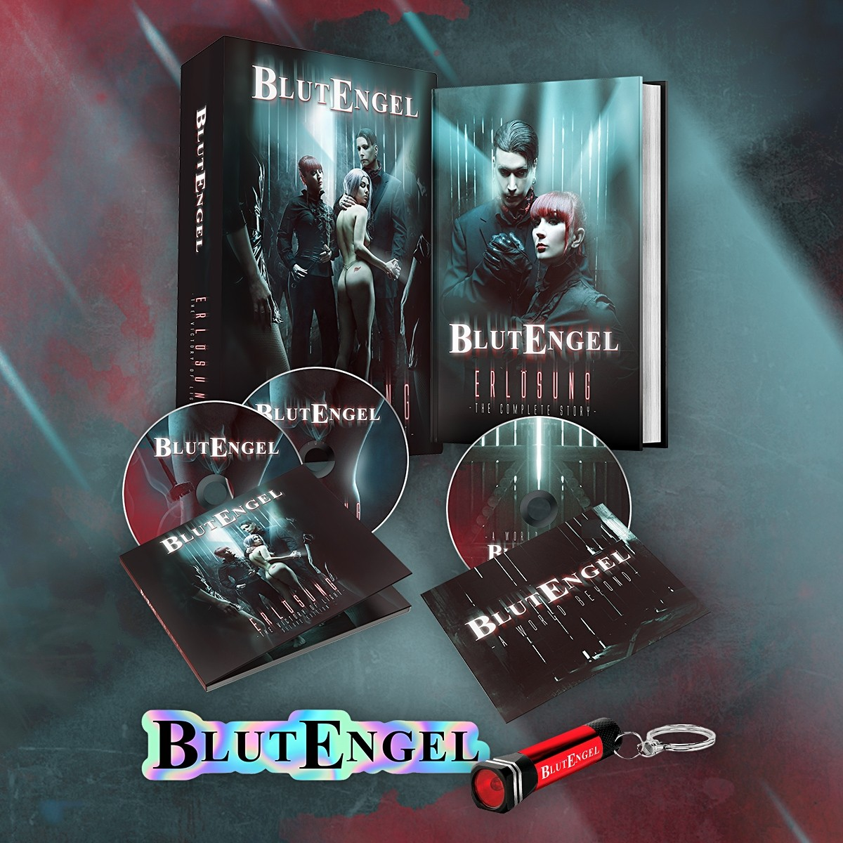 Blutengel - Erlösung - The Victory Of Light (Limited Edition) - BOX