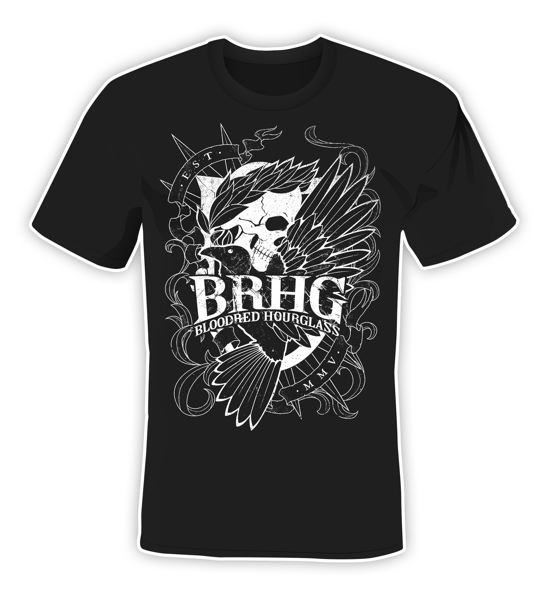 Bloodred Hourglass - BRHG 2019 - T-Shirt