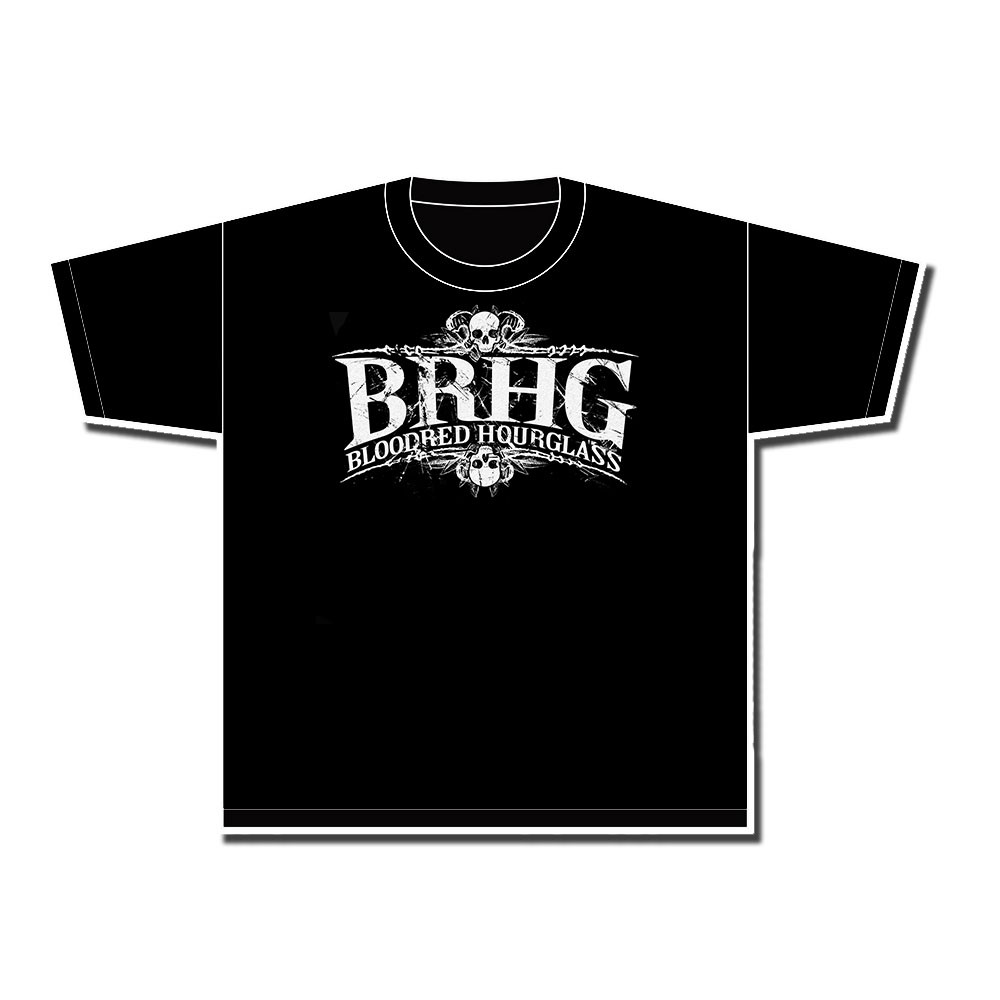 Bloodred Hourglass - BRHG Logo - T-Shirt