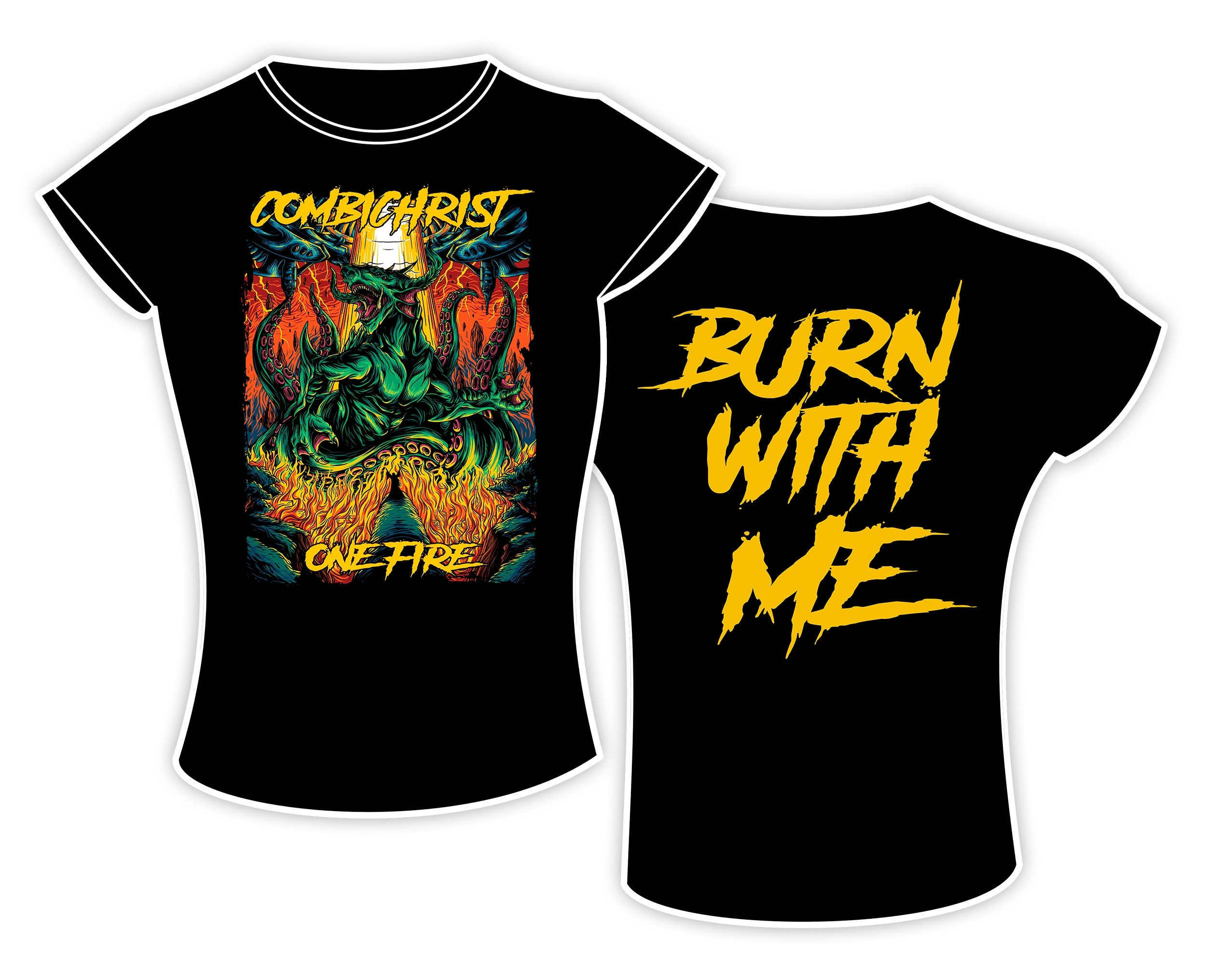 Combichrist - Burn with me / One Fire - Girlie