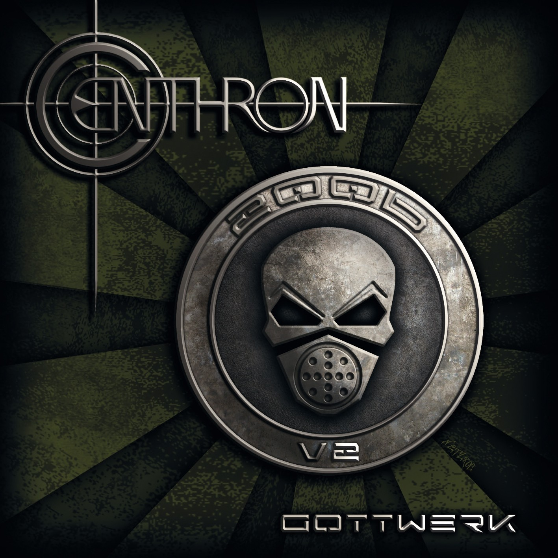 Centhron - Gottwerk V2 - CD