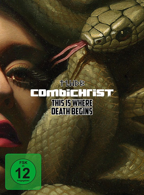 Combichrist - This Is Where Death Begins - CD/DVD - Limited 3CD+DVD