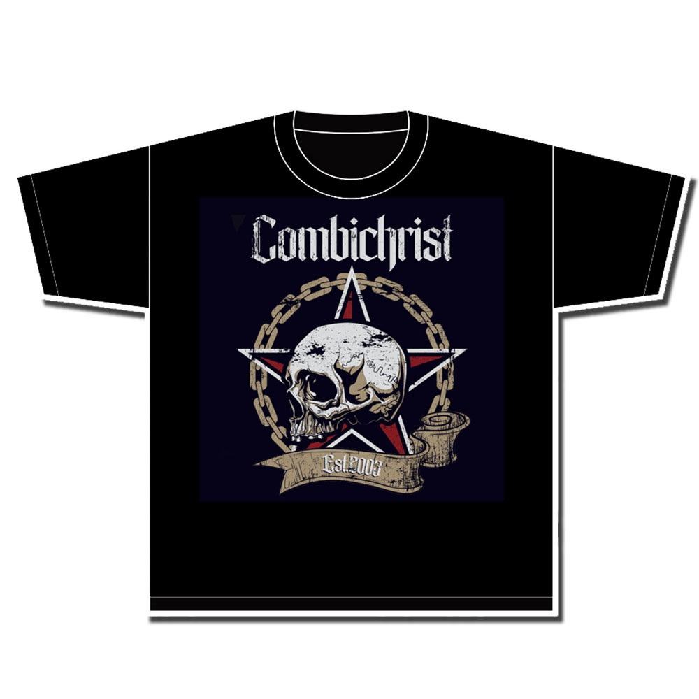 Combichrist - Skull & Chains - T-Shirt
