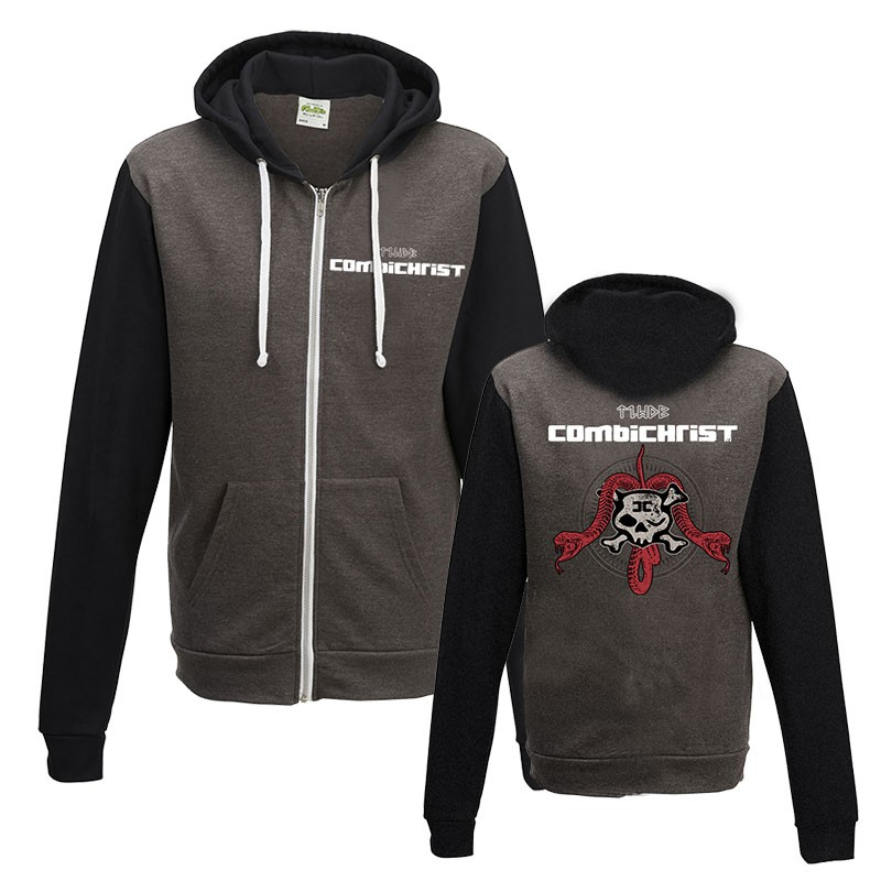 Combichrist - This is where death begins - Kapuzenjacke - Hoodie Jacket