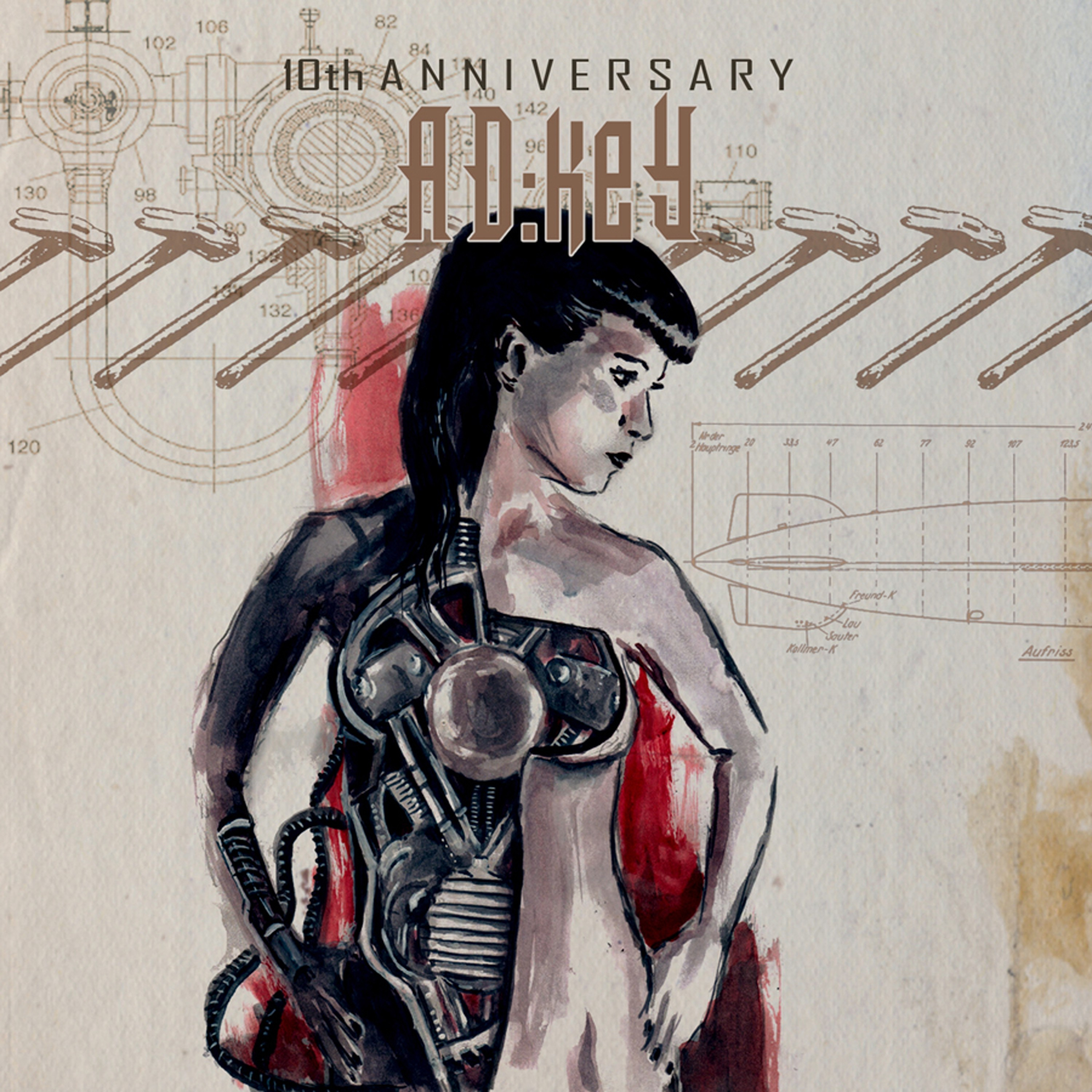 AD:Key- 10th anniversary AD:Key - CD