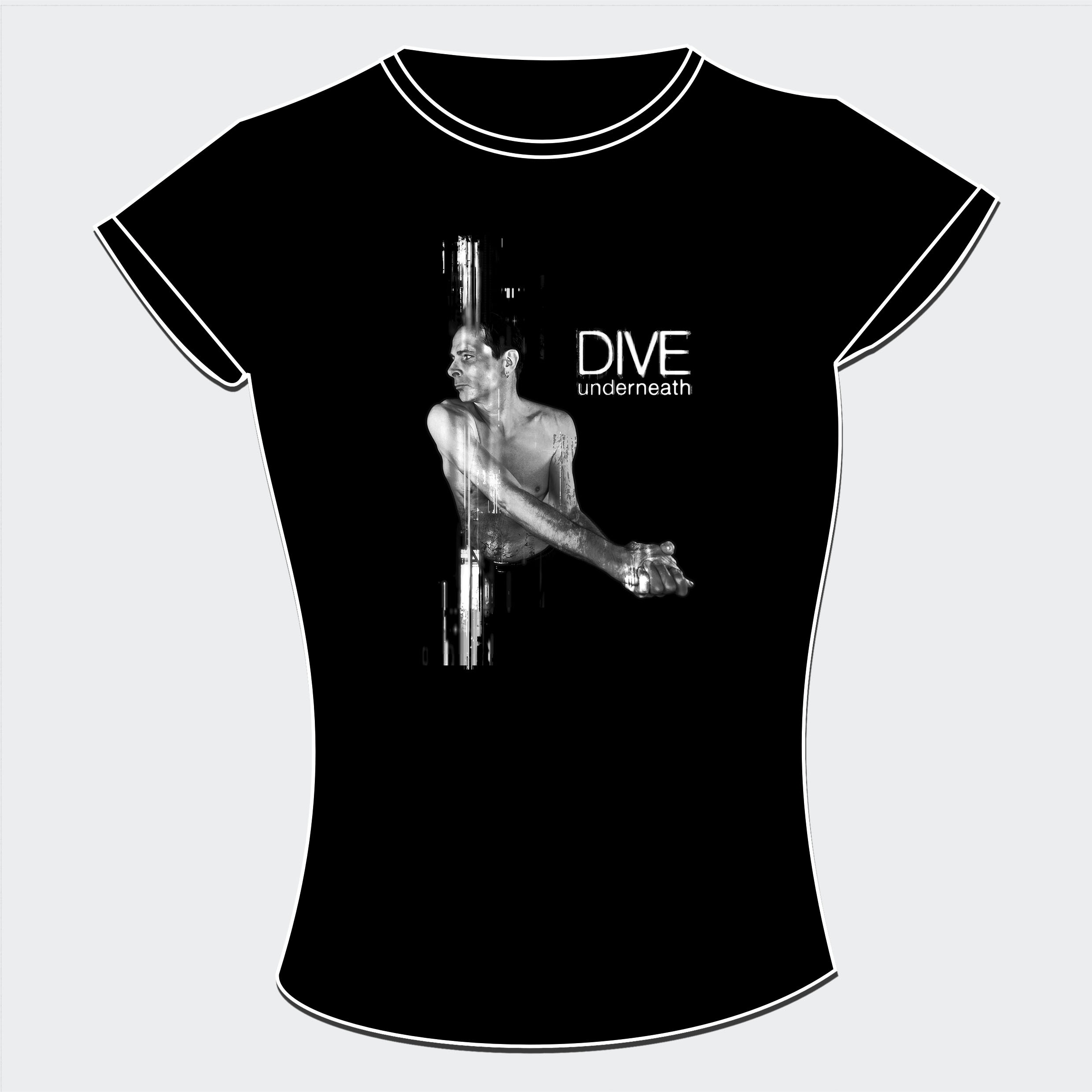 Dive - Underneath - Girlie-Shirt