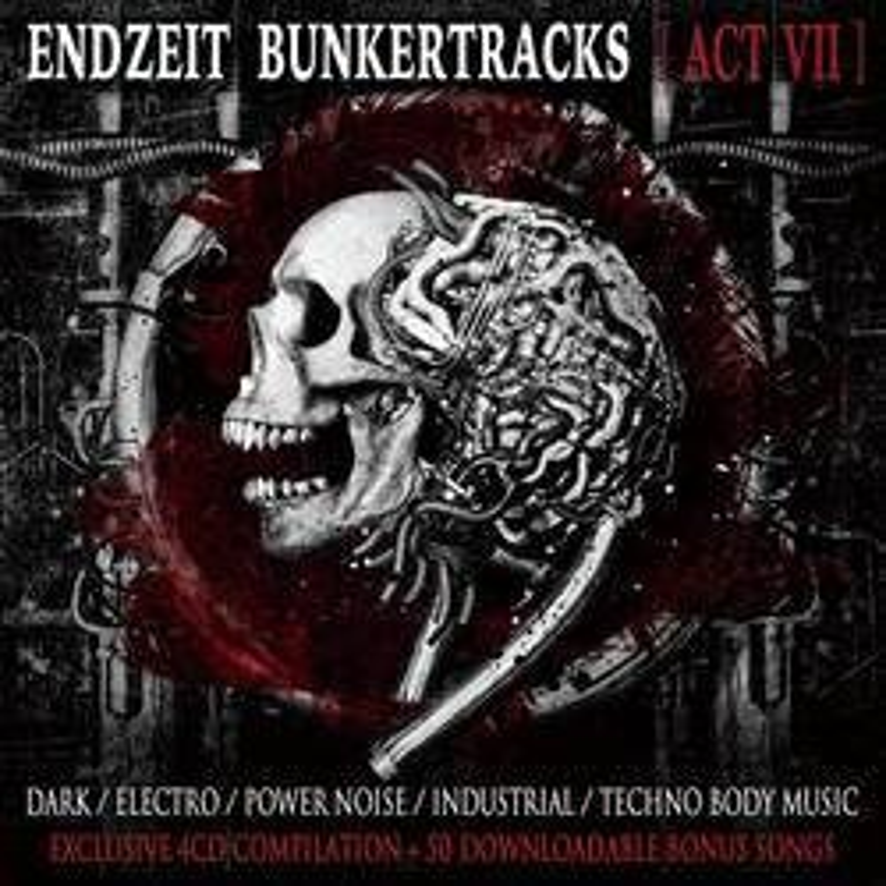 V.A. - Endzeit Bunkertracks Vol. 7 - Box Set - 4CD Box