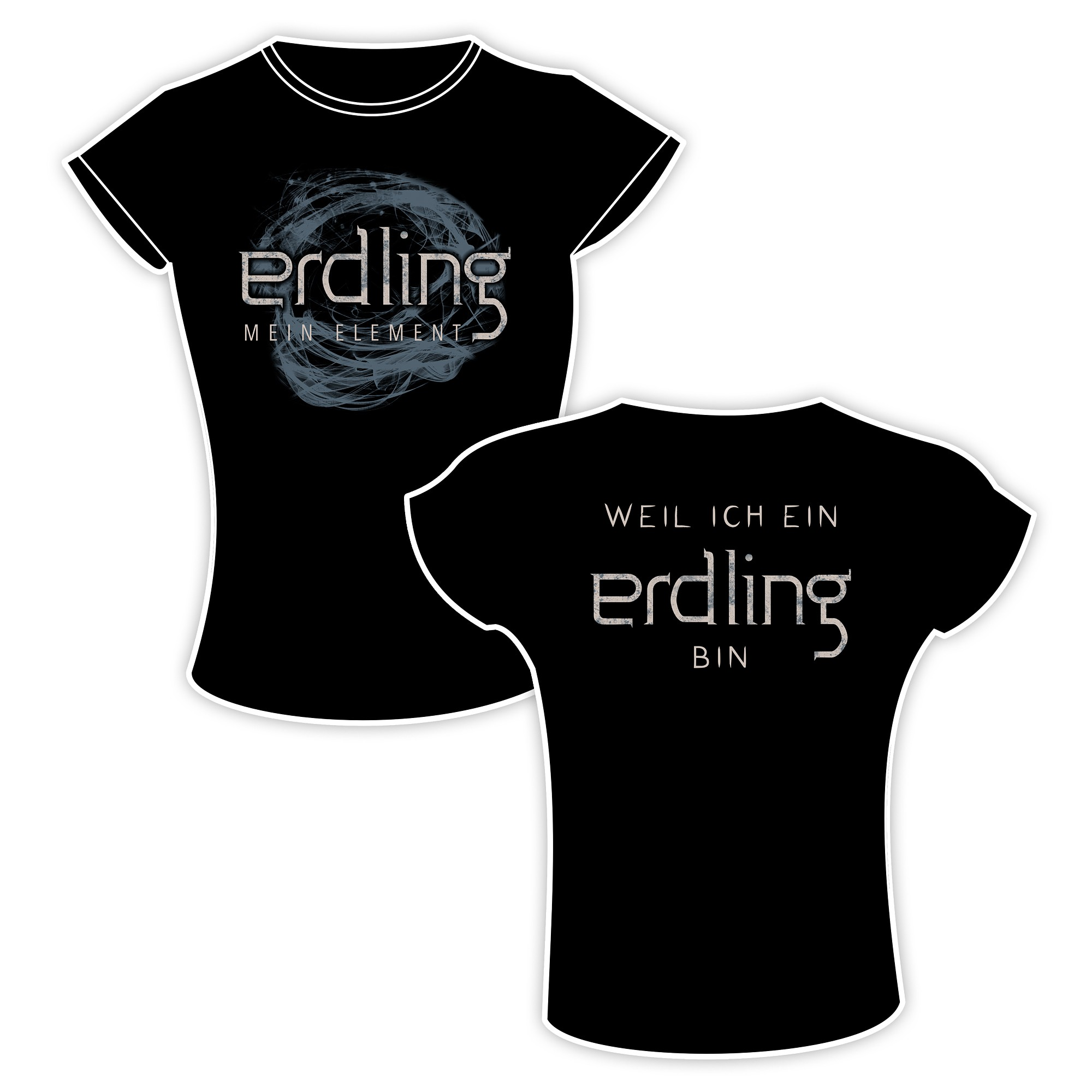 Erdling - Mein Element - Girlie Shirt