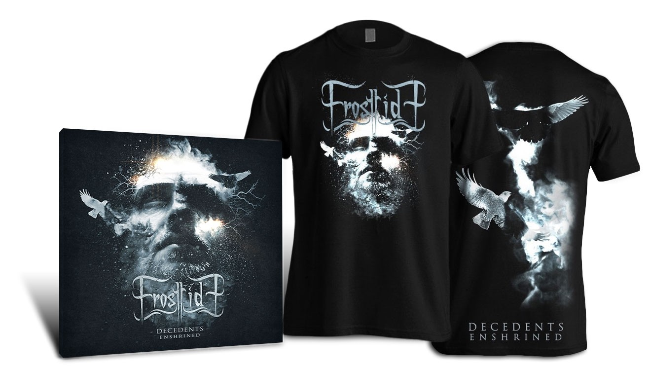 Frosttide -Decedents Enshrined - 2CD + T-Shirt Bundle