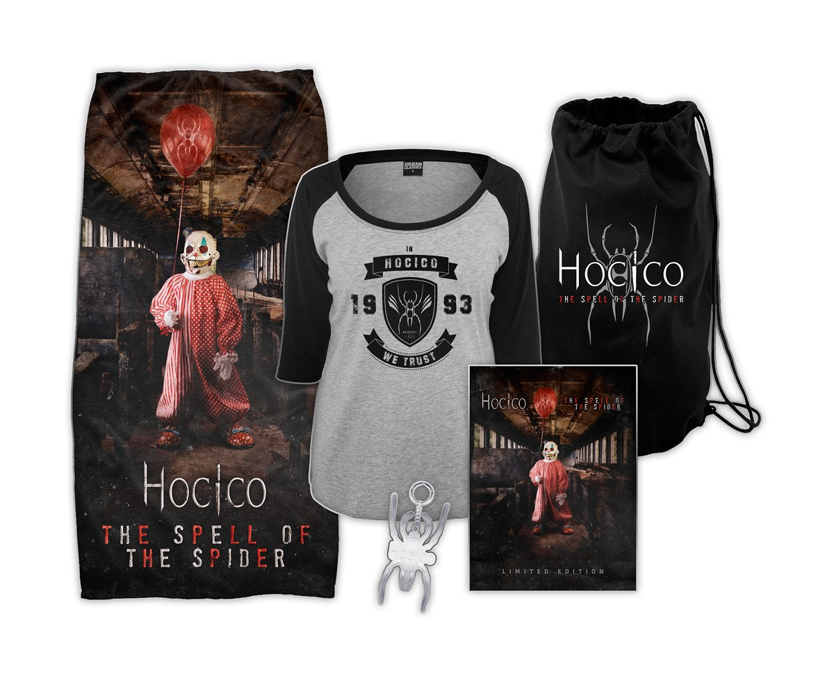 Hocico - The Spell Of The Spider - Summer Of Hate Bundle (Girlie)