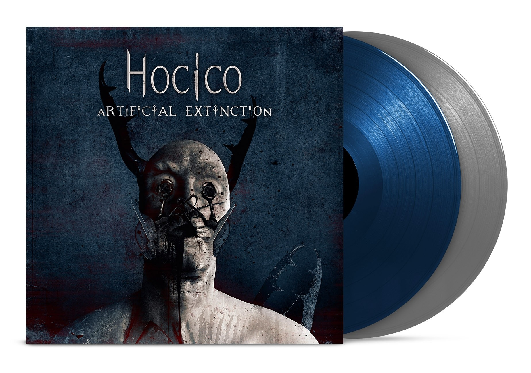 Hocico - Artificial Extinction (Limited Blue/Silver Vinyl) - 2LP