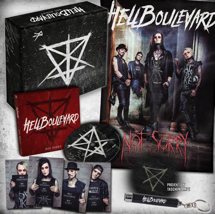 Hell Boulevard - Not Sorry (Limited Edition) - BOX