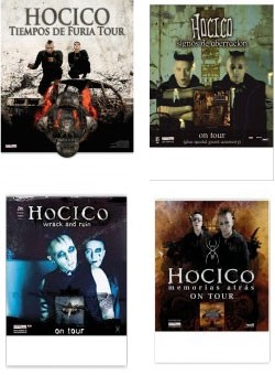 Hocico - Tour - Poster Bundle