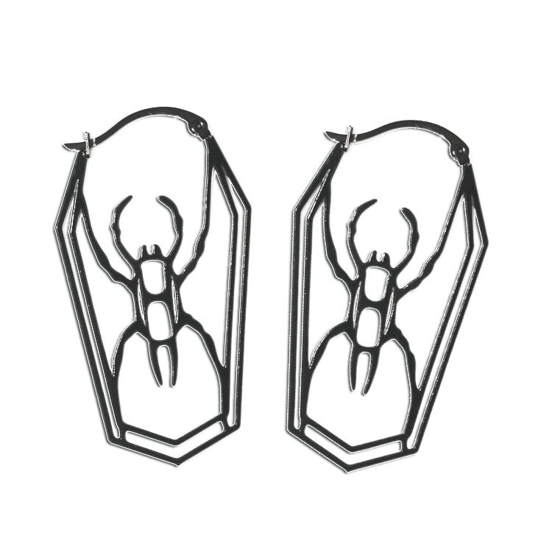 Hocico - Spider - Ohrringe / Earrings
