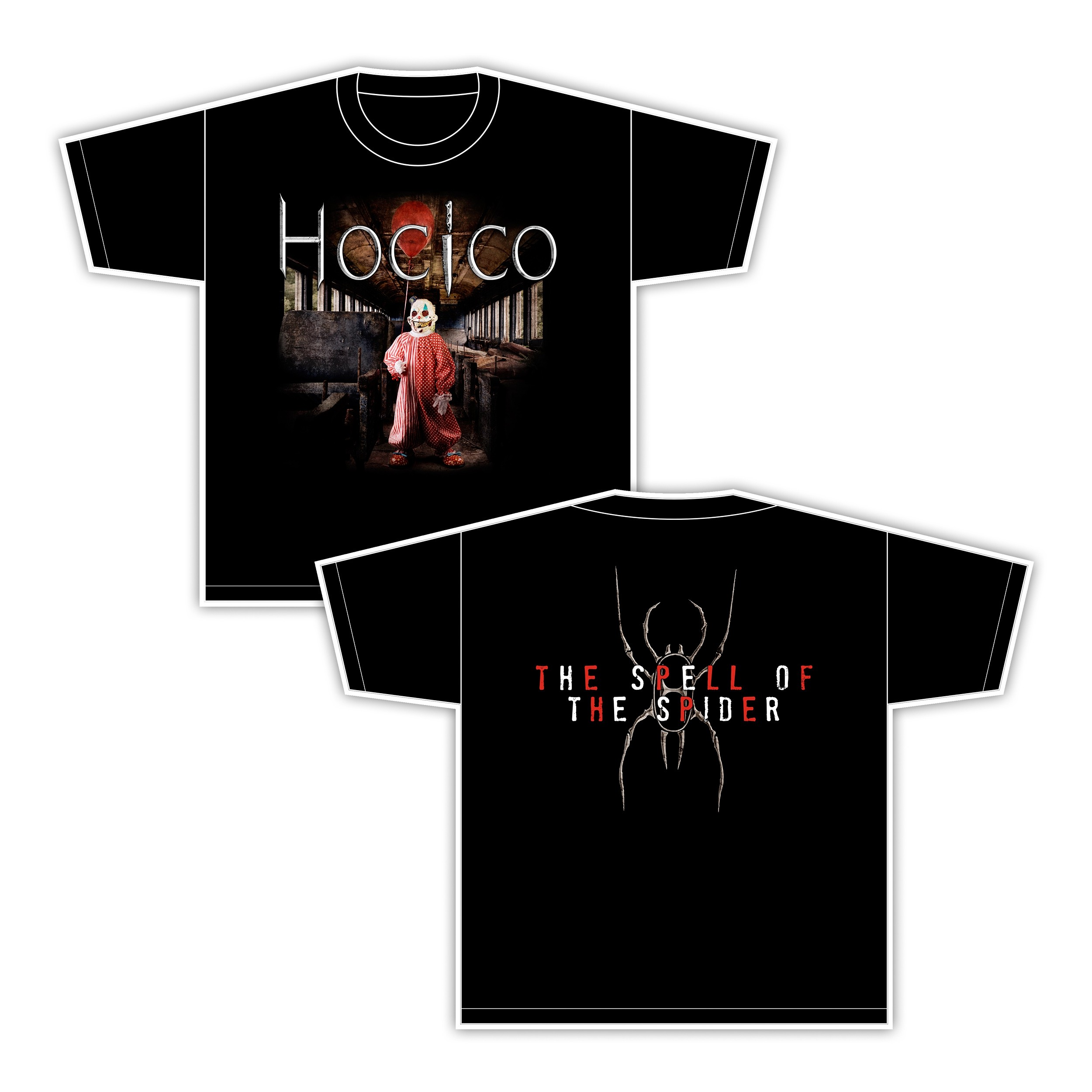 Hocico - The Spell Of The Spider - T-Shirt