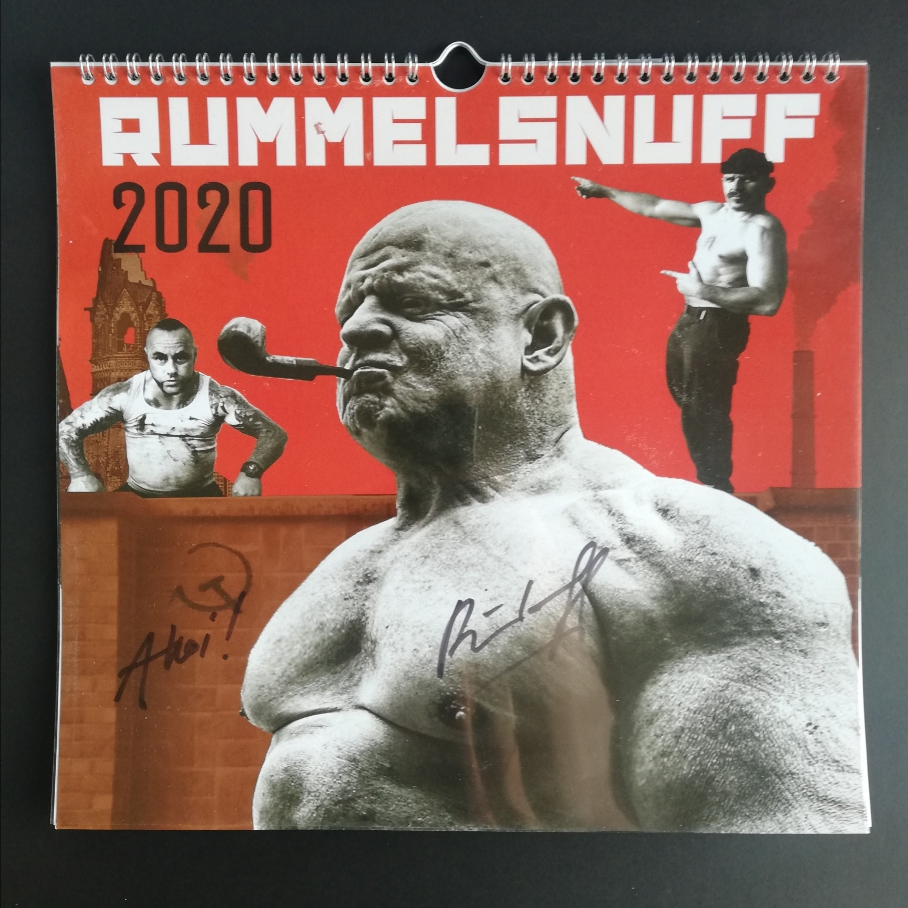 Rummelsuff - Kalender / Calendar 2020