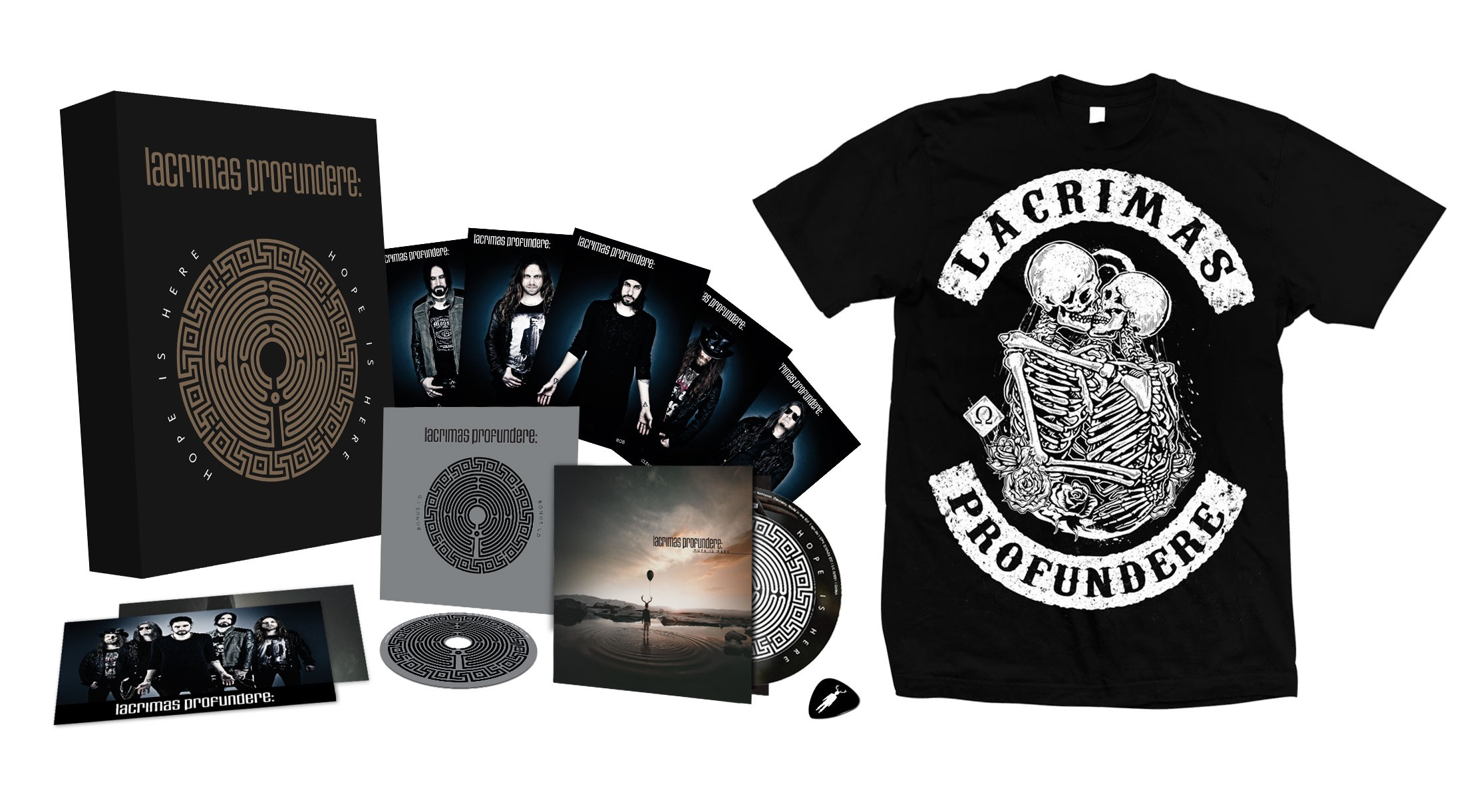 Lacrimas Profundere - Hope Is Here (Deluxe Edition) - BOX