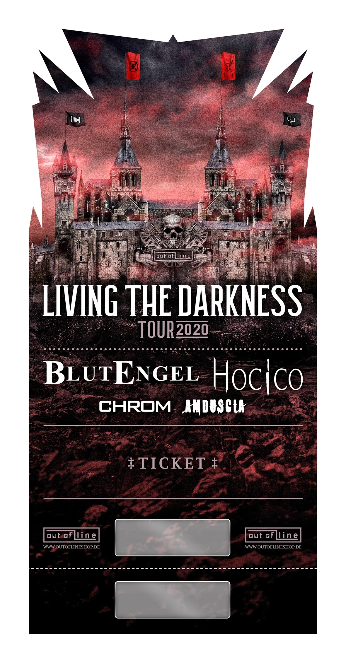 LIVING THE DARKNESS Tour - 22.04.2022 - LKA/Stuttgart - Ticket