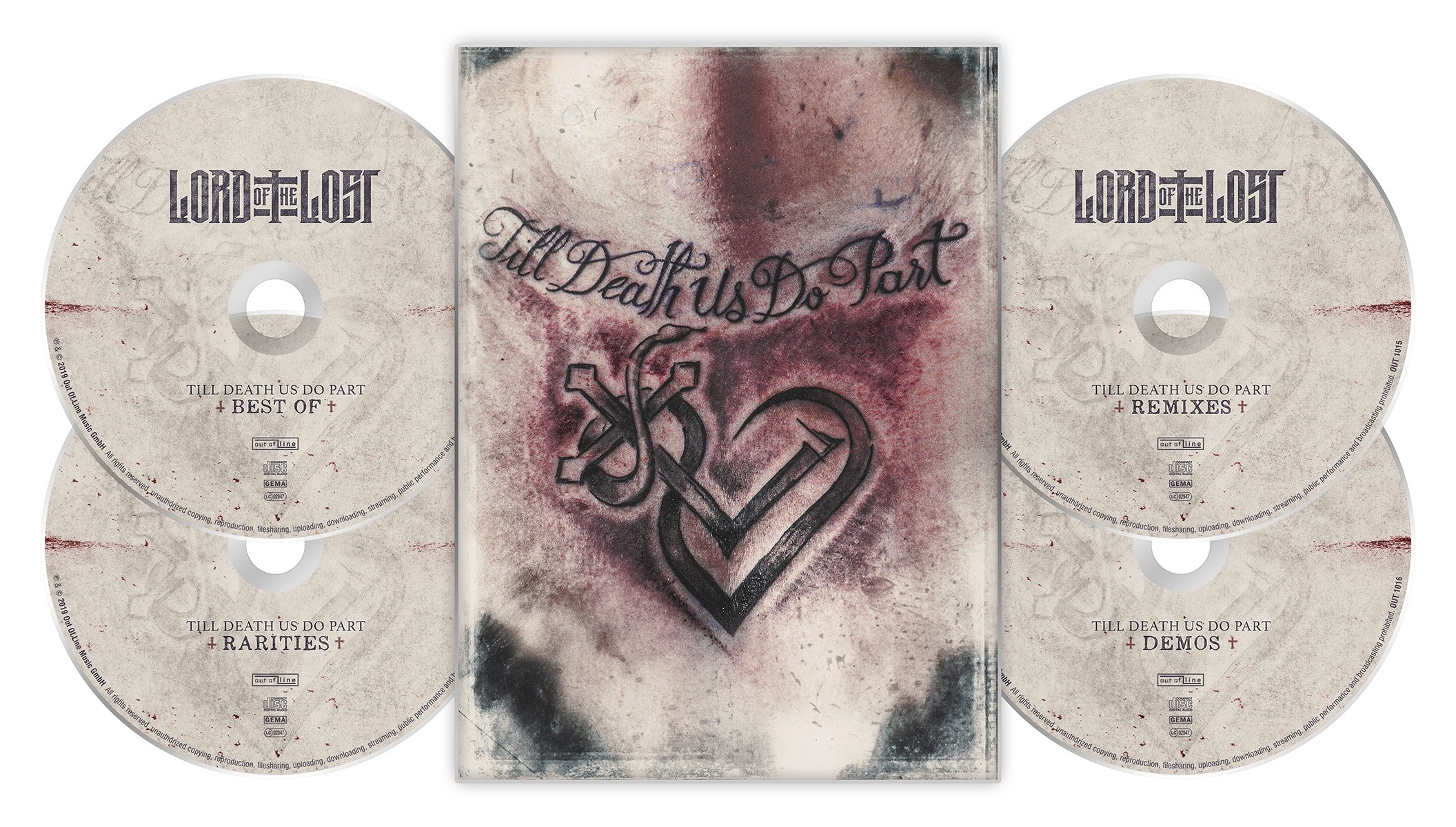 Lord Of The Lost - Till Death Us Do Part - Best Of (Limited Edition) - 4CD DigiBox